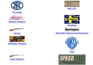 Shotguns and rifles for sale